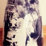 Mod Podge Photo Vase
