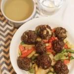 Tamarind Glazed Meatballs
